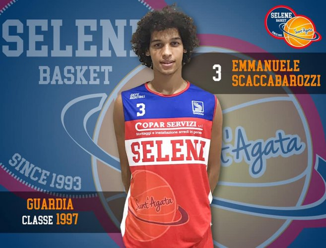 Selene Basket Sant'Agata:Manu Scaccabarozzi vestirà per il terzo anno consecutivo la biancorossa.