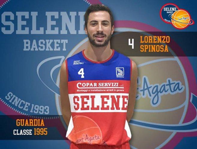 Selene Basket Sant'Agata : Altra conferma : Lorenzo Spinosa