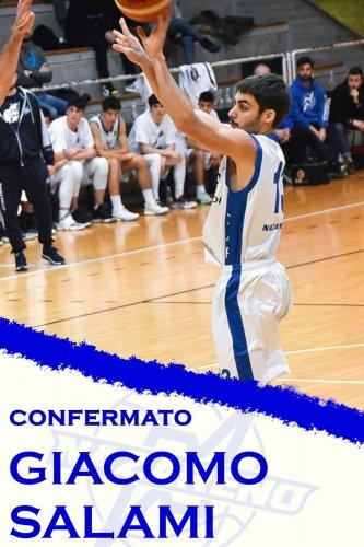 Polisportiva Nazareno Basket Carpi : Jack Salami confermato!!!!