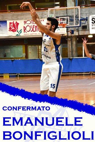 Polisportiva Nazareno Basket Carpi : Confermato Emanuele Bonfiglioli !!!!