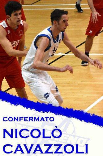 Polisportiva Nazareno Basket Carpi : Confermato Nicolò Cavazzoli !!!