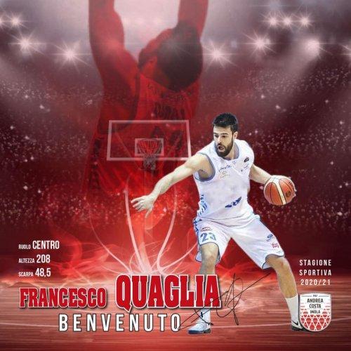 Andrea Costa Basket Imola : Francesco Quaglia vestirà biancorosso‼️