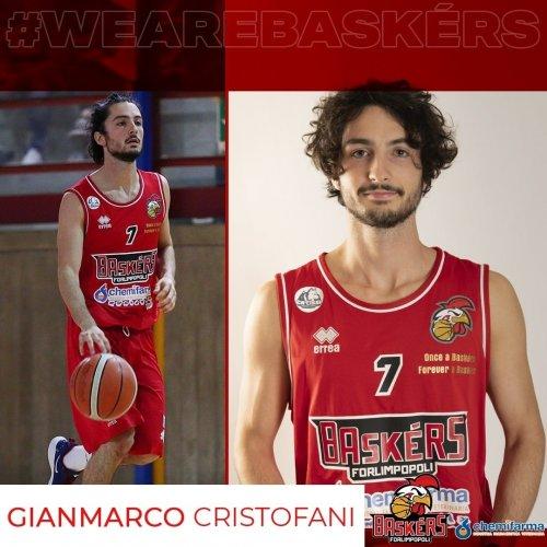 Baskérs Forlimpopoli :Confermato Gianmarco Cristofani