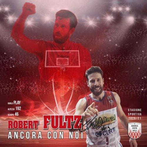 Andrea Costa Basket Imola : Ancora con noi Robert Fultz!!️!! ️