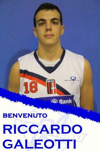 Polisportiva Nazareno Basket Carpi : Ufficiale l'arrivo di Riccardo Galeotti !!!