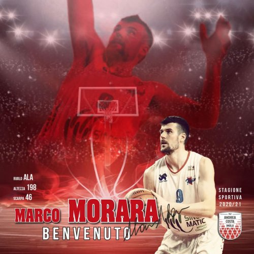 Andrea Costa Basket Imola : Che coppia - ecco Nunzio Corcelli e Marco Morara in biancorosso!