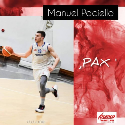Atletico  Basket Borgo: new entry tesserato Manuel Paciello