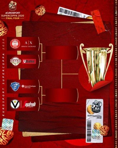 Eurosport Supercoppa 2020: sarà Sassari l'avversario di Virtus in semifinale