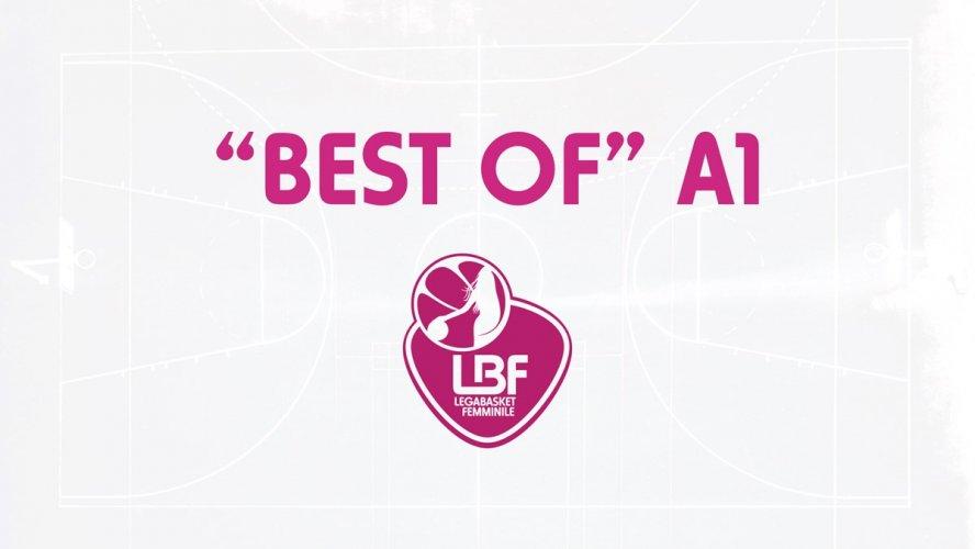 """""""Best Of """" A1: vota i tuoi momenti preferiti della stagione sui social della Lega Basket Femminile!"""
