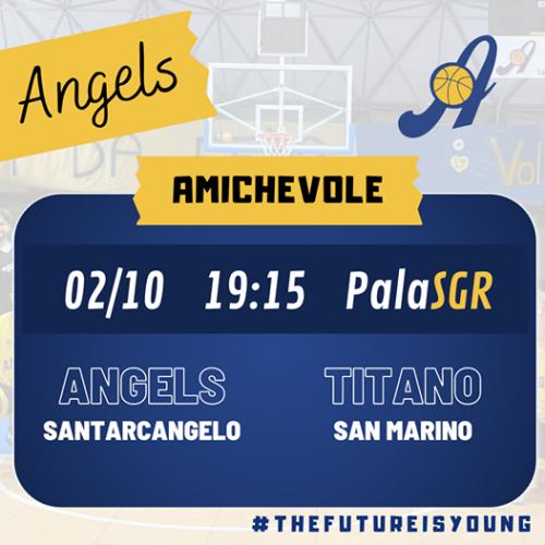 Angels Basket Santarcangelo: Due test importanti stasera e domani