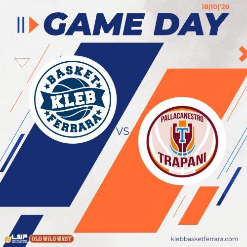 Kleb Basket Top Secret Ferrara : Domani arriverà la 2B Control Trapani.