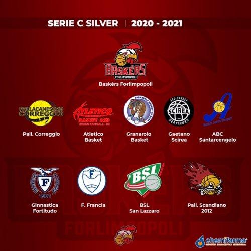 Elenco delle squadre che parteciperanno al campionato di serie C Silver 2020/2021.