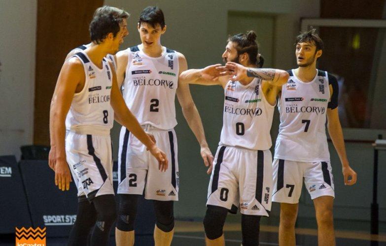 Belcorvo Rucker San Vendemiano vs Godengas Senigallia   72-70