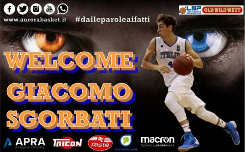 Colpo Aurora Basket : A Jesi  arriva Giacomo Sgorbati.