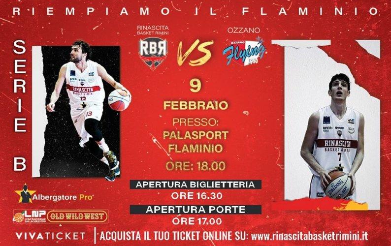 Pre - gara : Rinascita Basket Rimini  - New Flying Balls Ozzano