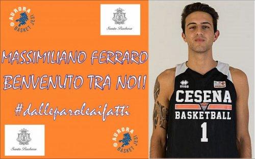 L'Aurora Basket Jesi  completa il quintetto con la firma  di Massimiliano Ferraro