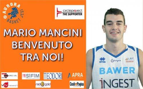 L'Aurora Basket Jesi The Supporter allunga il roster con la firma dell'ala Mario Mancini