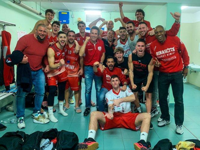 Andrea Costa Imola Basket-RivieraBanca Basket Rimini 65-73
