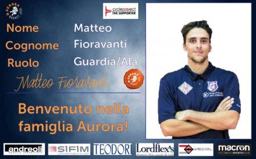 L'Aurora Basket Jesi mette un altro tassello : firmato l'esterno Matteo Fioravanti