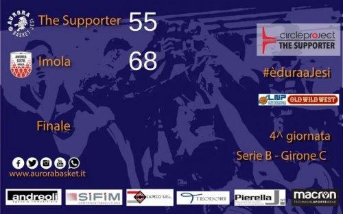 The Supporter Jesi - Andrea Costa Imola 55-68 (21-16, 12-16, 11-19, 11-17)