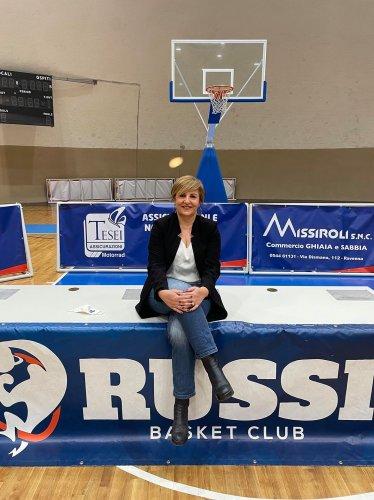 Basket Russi - Nominata la nuova Presidentessa Laura Mazzotti