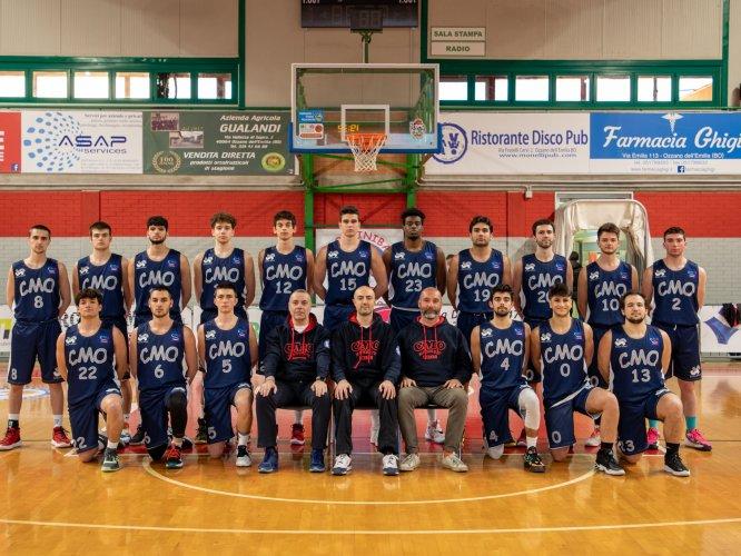CMO Ozzano - Pall. Budrio 88-97 (20-24 43-45 64-69)