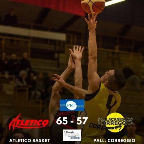 Atletico Basket Borgo Bologna - Spal Correggio   65-57