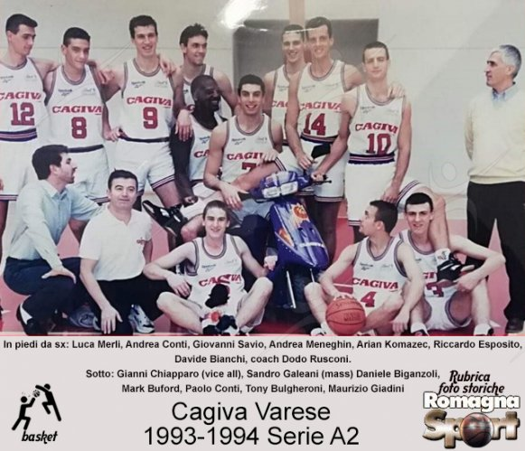 FOTO STORICHE - Cagiva Varese 1993-94