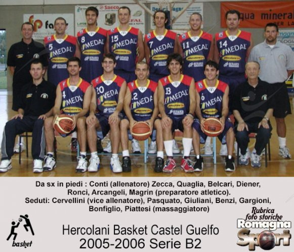 FOTO STORICHE - Hercolani  Basket Castel Guelfo 2005-06