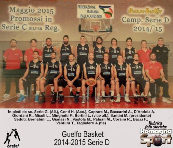 FOTO STORICHE - Guelfo Basket 2014-15