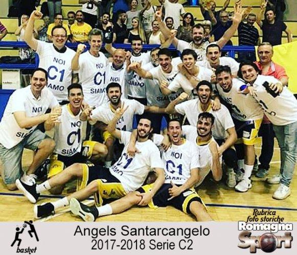 FOTO STORICHE - Angels Santarcangelo 2017-18
