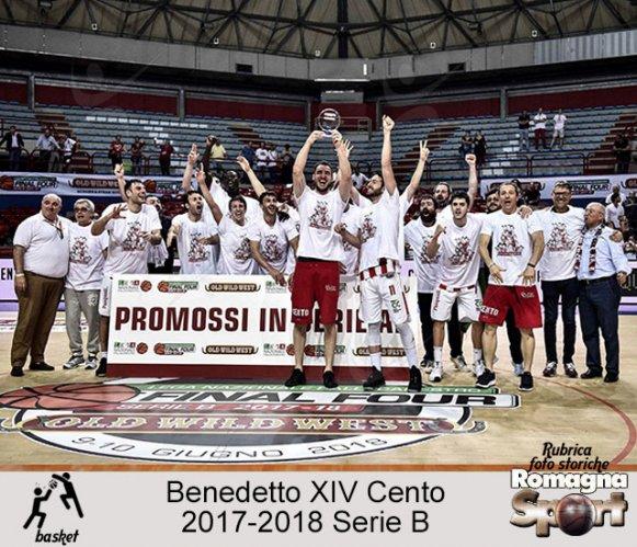 FOTO STORICHE - Benedetto XIV Cento 2017-18