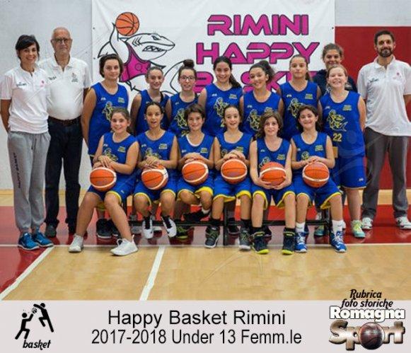 FOTO STORICHE - Under 13 Happy Bakset Rimini 2017-18