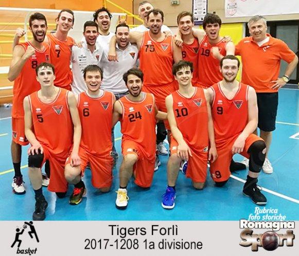 FOTO STORICHE - Tigers Forli 2017-18 (prima divisione)
