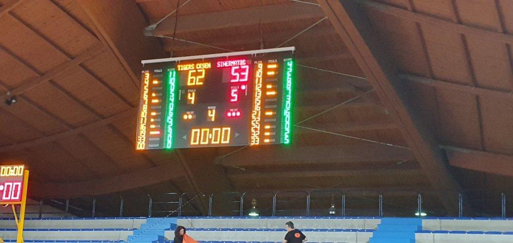 Amadori Tigers Cesena  vs New Flying Balls Sinermatic Ozzano  62 - 53