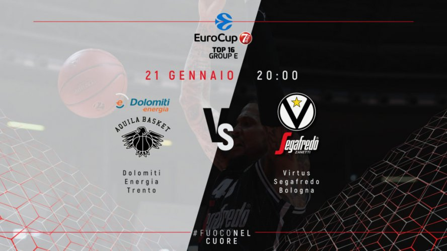 3° giornata EuroCup Top 16, il pre partita di Trento