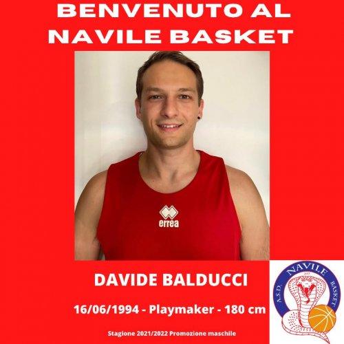Navile Basket Bologna : Il primo innesto è Davide Balducci
