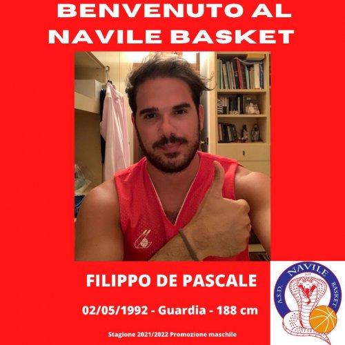 Navile Basket : preso Filippo De Pascale