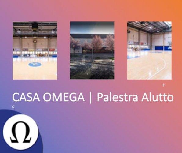 Palestra Alutto nuova casa dell'Omega Basket