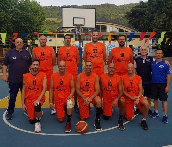 Italia Basket Over 40