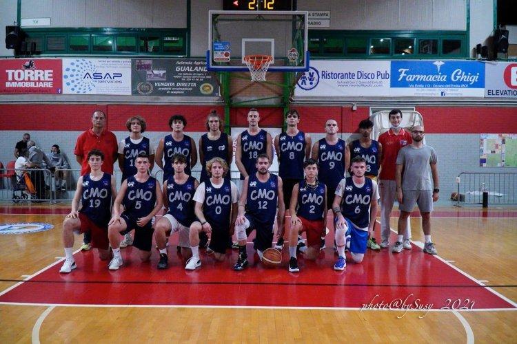 CMO Ozzano - Basket Russi 92 - 79 (32-28; 52-42; 74-59)