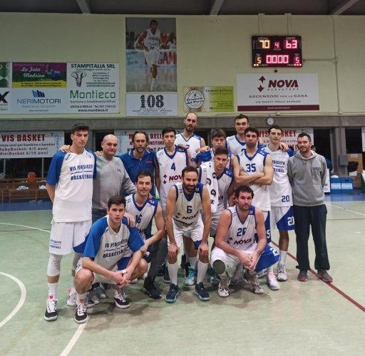 Vis Basket Persiceto - Pol. Castelfranco E.   70-63