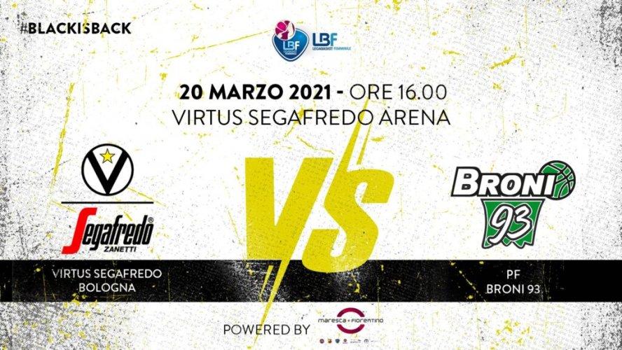 Virtus Segafredo Bologna - LBF: il prepartita della sfida con Broni
