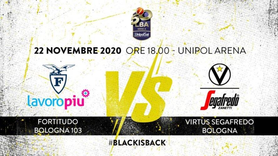 LBA, 9° giornata: Fortitudo Lavoropiù Bologna vs Virtus Segafredo Bologna