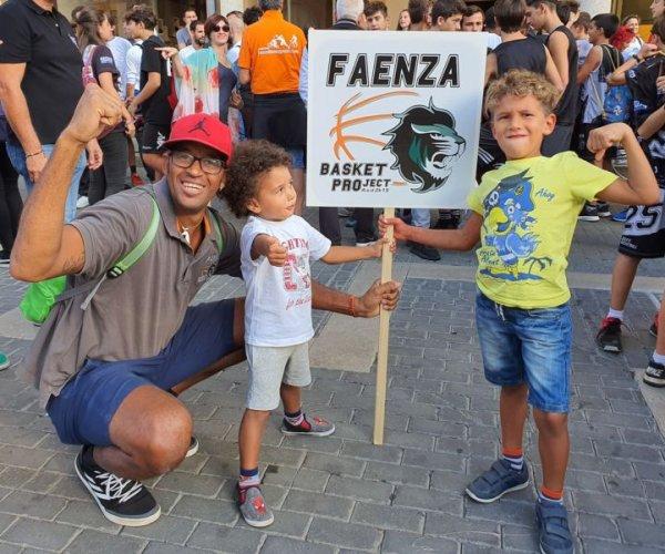 Faenza Basket Project: Si continua a bailar :Paulo Santo ancora con noi!!!!