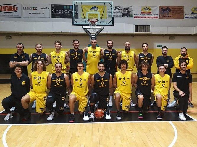 Virtus Medicina - Guelfo Basket: 69 - 78 Parziali: 19-16/42-34/56-60