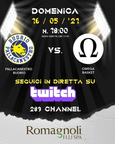 Il prepartita Pallacanestro Budrio - Omega Basket