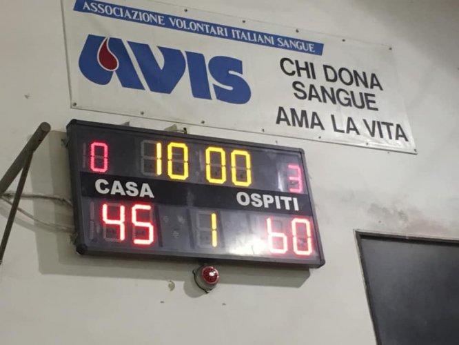 Budrio 289 Academy Budrio  -  ASD Massa Basket 2010   45 - 60