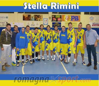 Impressionante ruolino di marcia della Polisportiva Stella Rimini
