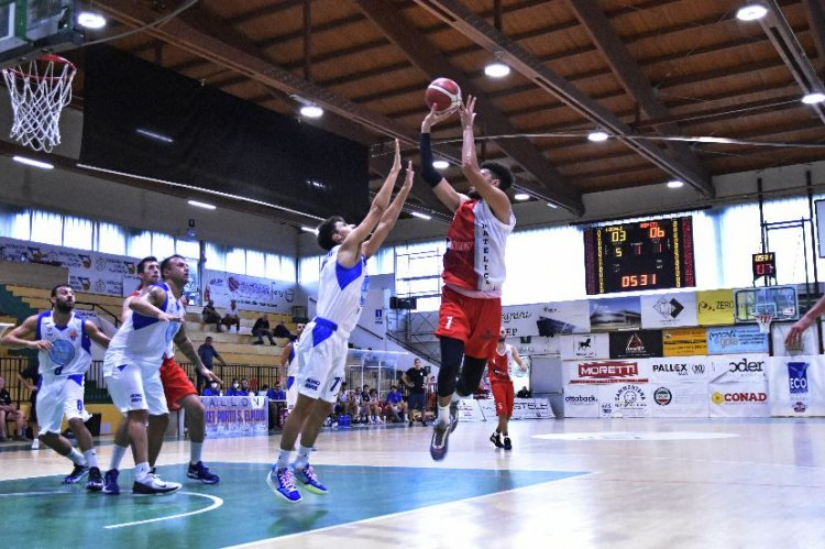 Porto Sant'Elpidio Basket-Halley Matelica 62-66
